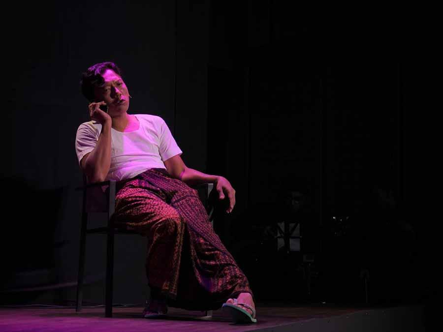 Teuku Rifnu Wikana Tampilkan Teater Monolog Amir Nasution di GIK