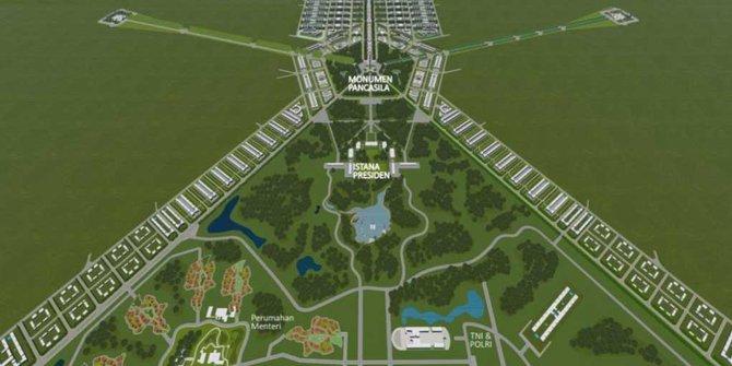 Ibu Kota Baru di Tanah Prabowo