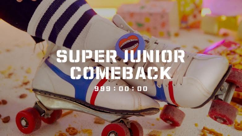 Super Junior Comeback 14 Oktober 2019