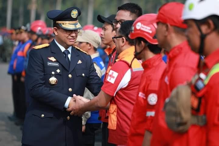 Anies Baswedan Kirim Bantuan Atasi Karhulta, Pemprov Riau Menolak
