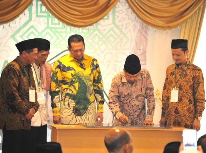 Wapres Resmikan Gedung Dakwah Hidayatullah dan Masjid Baitul Karim