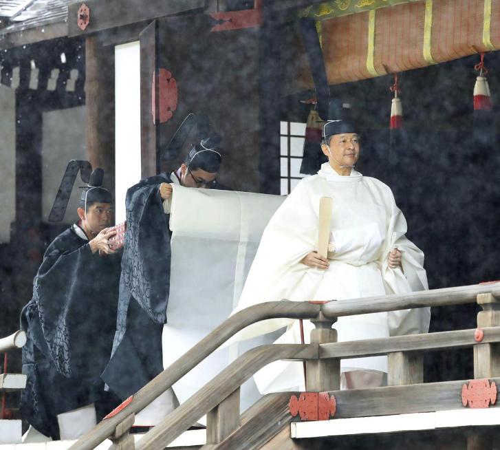Naruhito Resmi Dinobatkan Sebagai Kaisar Jepang