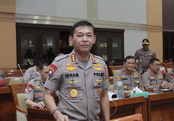 DPR Resmi Tetapkan Idham Azis Jadi Kapolri