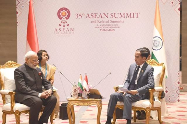 Bertemu Presiden Jokowi, PM India Janji Berlaku Adil untuk Sawit Indonesia
