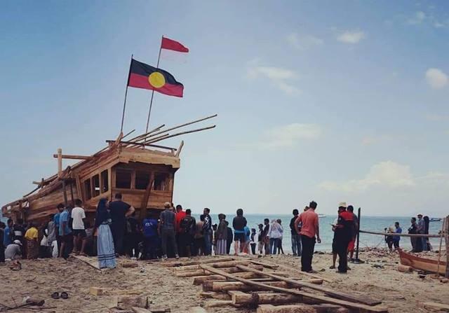 Ekspedisi Pelayaran Perahu Padewakang ke Australia 2019