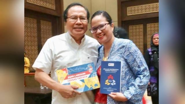 Putri Rizal Ramli Membedah Keruwetan Pelajaran Matematika