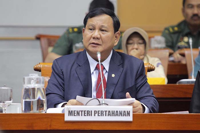 Menhan Prabowo Beberkan Gagasan SDM Pertahanan Negara