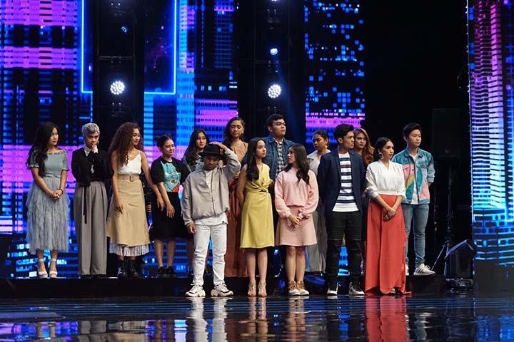 15 Peserta Menuju Babak Spektakuler Indonesian Idol X