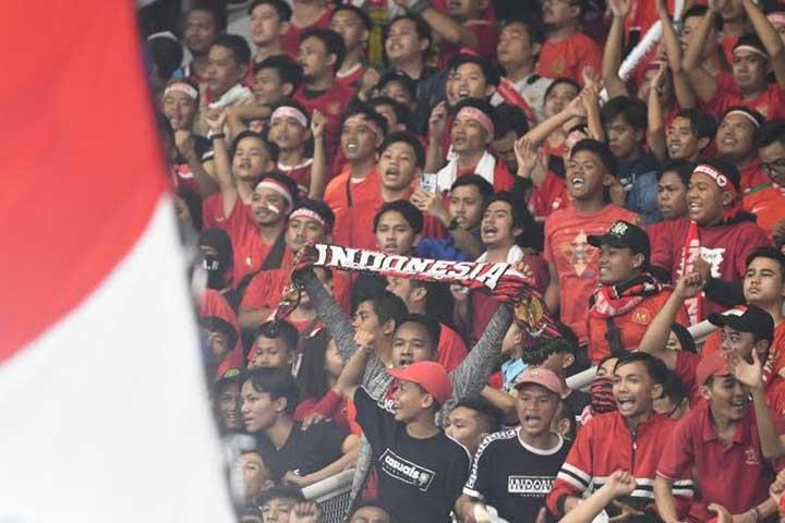 Suporter Timnas Indonesia Dapat Kuota 5 Persen di Bukit Jalil