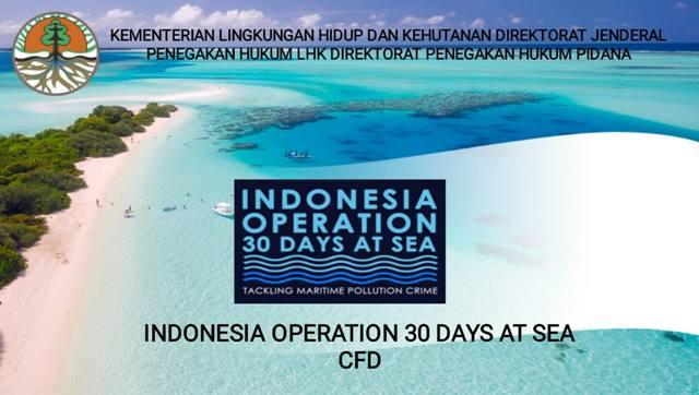 Kementerian KLHK Undang 58 Negara Gelar Operasi 30 Hari di Laut