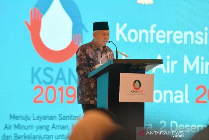 Wapres Ma'ruf Amin Dorong Kementerian PPN Buka Kerja Sama Penyediaan Air dengan Asing