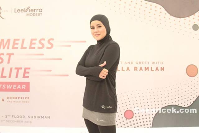 Bingung Cari Pakaian Olahraga Hijab, Olla Ramlan Luncurkan Sportswear