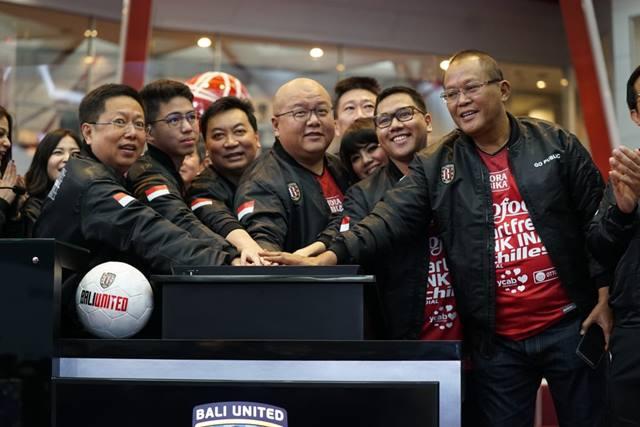 Setelah Juara, Harga Saham Bali United Naik 5,88 persen
