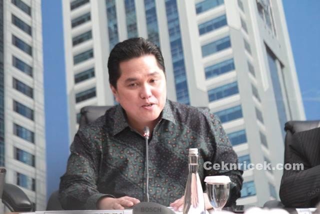 Menteri BUMN Erick Thohir Pecat Dirut Garuda