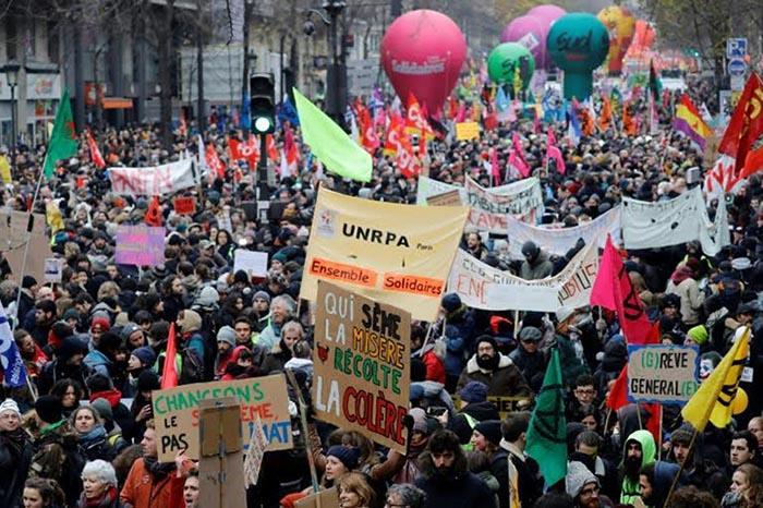 Gara-gara Sistem Pensiun, Demonstrasi di Prancis Berubah Rusuh