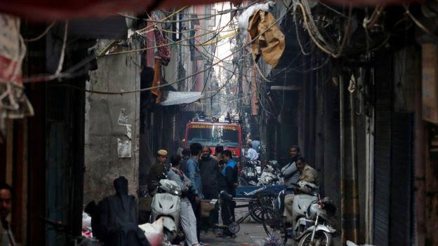 Si Jago Merah Melalap Pabrik di India, Puluhan Orang Tewas
