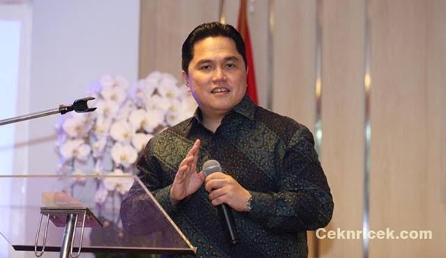 Terbang ke Singapura Menteri BUMN Erick Thohir akan Bertemu 40 Investor