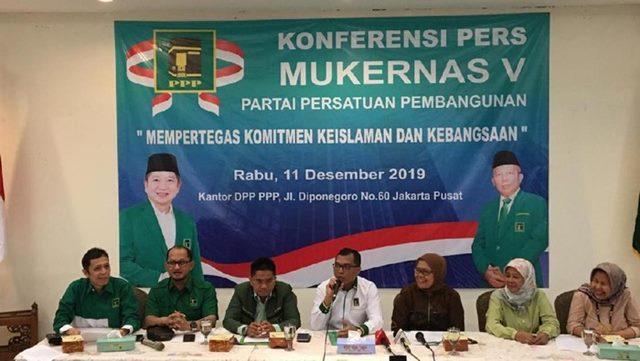PPP Gelar Mukernas 14 Desember 2019