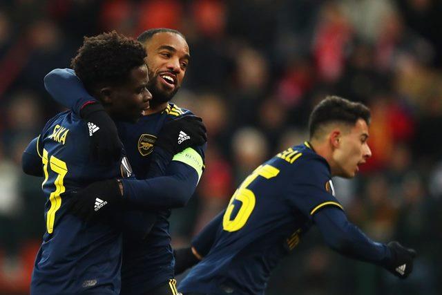 Drama 4 Gol di Babak Kedua, Arsenal Tahan Imbang Standard Liege