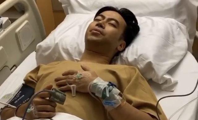 Vidi Aldiano Terbaring Lemas Setelah Operasi