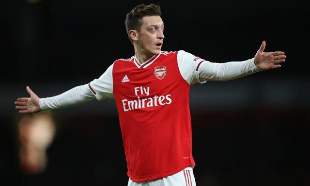 Soal Cuitan Ozil, Arsenal Pilih Jaga Jarak