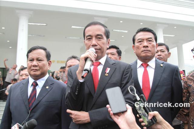 Presiden Jokowi Hadiri Rapat Pimpinan Kementerian Pertahanan