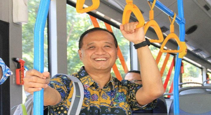 Dirut TransJakarta Agung Wicaksana Mohon Pamit