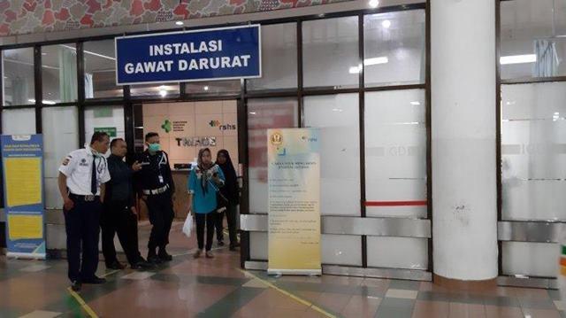 Rumah Sakit Hasan Sadikin Bandung Isolasi WNA Asal Tiongkok