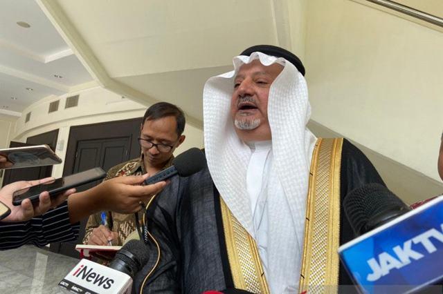 Dubes Arab: Penambahan Kuota Haji Tunggu Perluasan Area Rampung