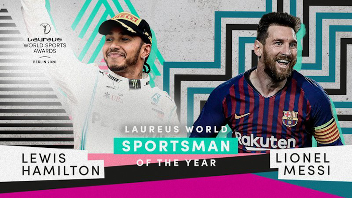 Lewis Hamilton dan Lionel Messi Raih Laureus World Sportsman of the Year