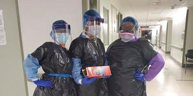 Kurang Alat Pengaman Diri, Perawat di New York Unjuk Rasa