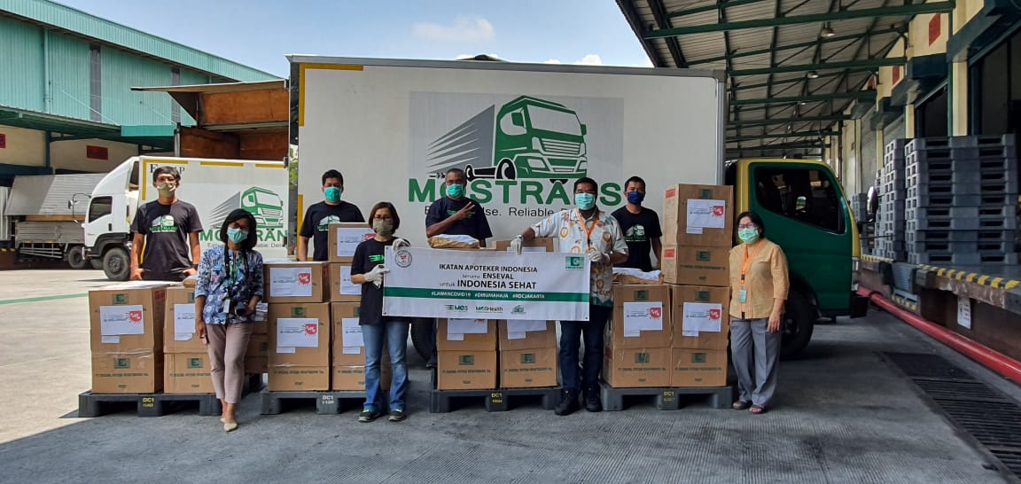 Bentuk Satgas, PP IAI Kirim Bantuan Logistik ke 34 Propinsi di Indonesia