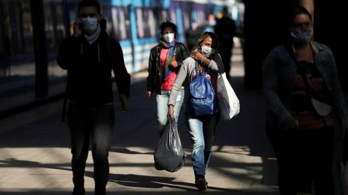 Peningkatan Kasus Harian, Argentina Tembus 10 Ribu Kasus Virus Korona