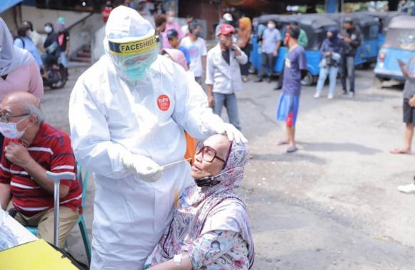 50 Pedagang Pasar Klender Jaktim Pernah Kontak dengan Penderita Covid-19