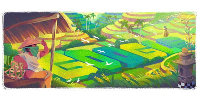 Subak, Warisan Budaya Bali Jadi Google Doodle Hari Ini 29 Juni 2020
