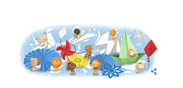Google Doodle Semarakkan Hari Anak Nasional Indonesia