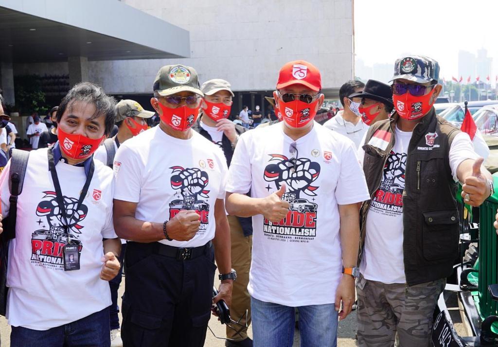Bamsoet Ajak Komunitas Otomotif Jadi 'Duta 4 Pilar'
