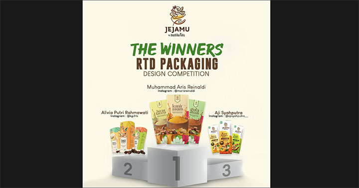 Ajak Masyarakat Cintai Jamu, MRAT Gelar RTD Packaging Design Competition