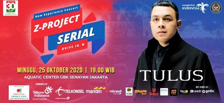 Aquatic Stadium GBK Senayan Sebagai Lokasi Z-Project Serial with TULUS 2020