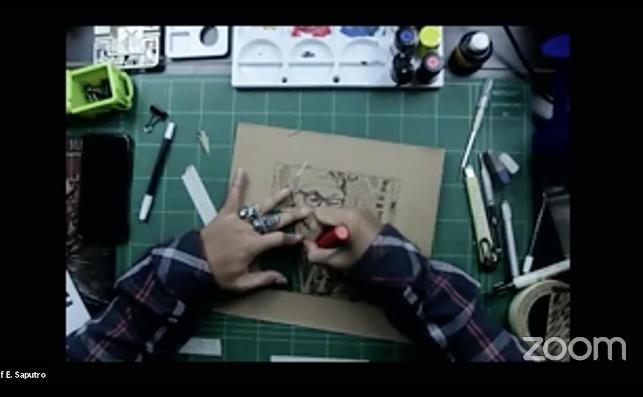 Galeri Nasional Gelar Workshop Daring Seni Grafis dan Sketsa