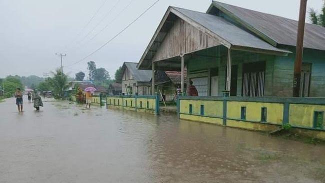 BPBD: 2.863 Orang Mengungsi Akibat Banjir di Halmahera Utara