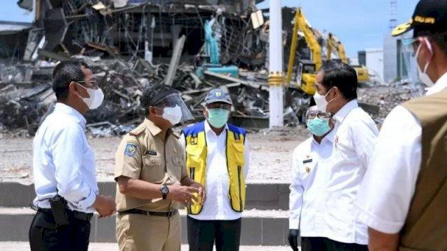 Gempa Mamuju, Jokowi Janji Bangun Gedung Pemda, DEIT Galang Dana Kemanusiaan.