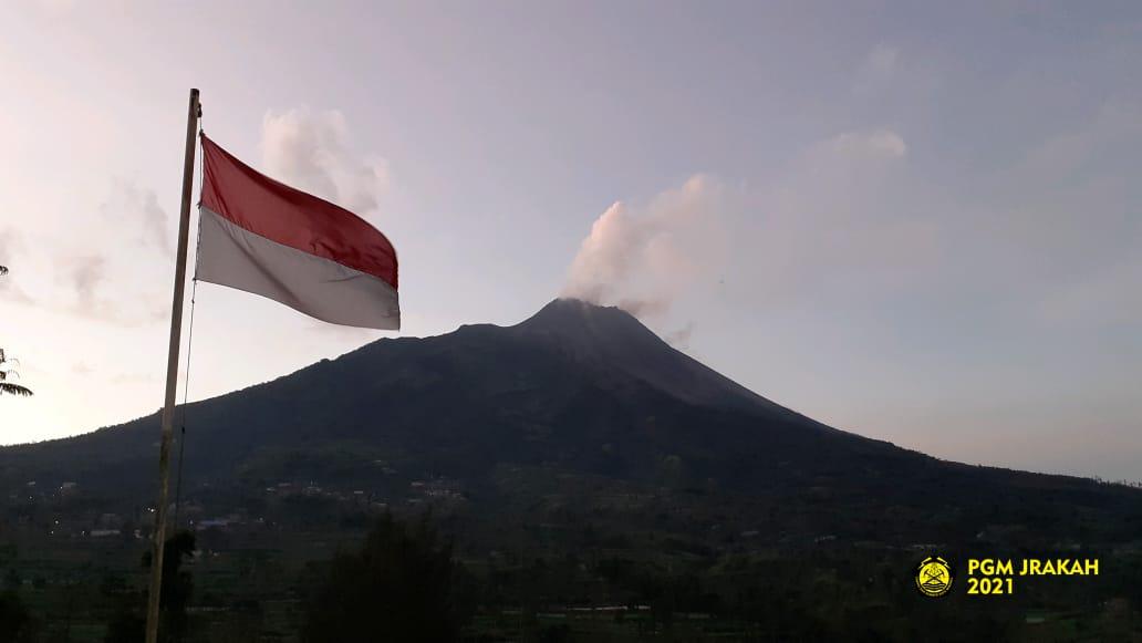 Volume Kubah Lava di Kawah Merapi Capai 1,68 Juta Meter Kubik