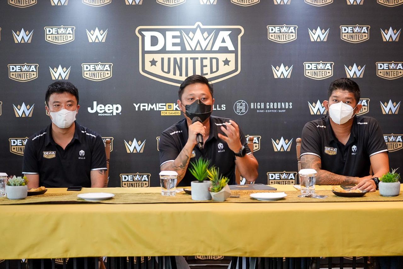 Kasus Covid-19 Meningkat, Manajemen Dewa United Tunda Launching Divisi Tim