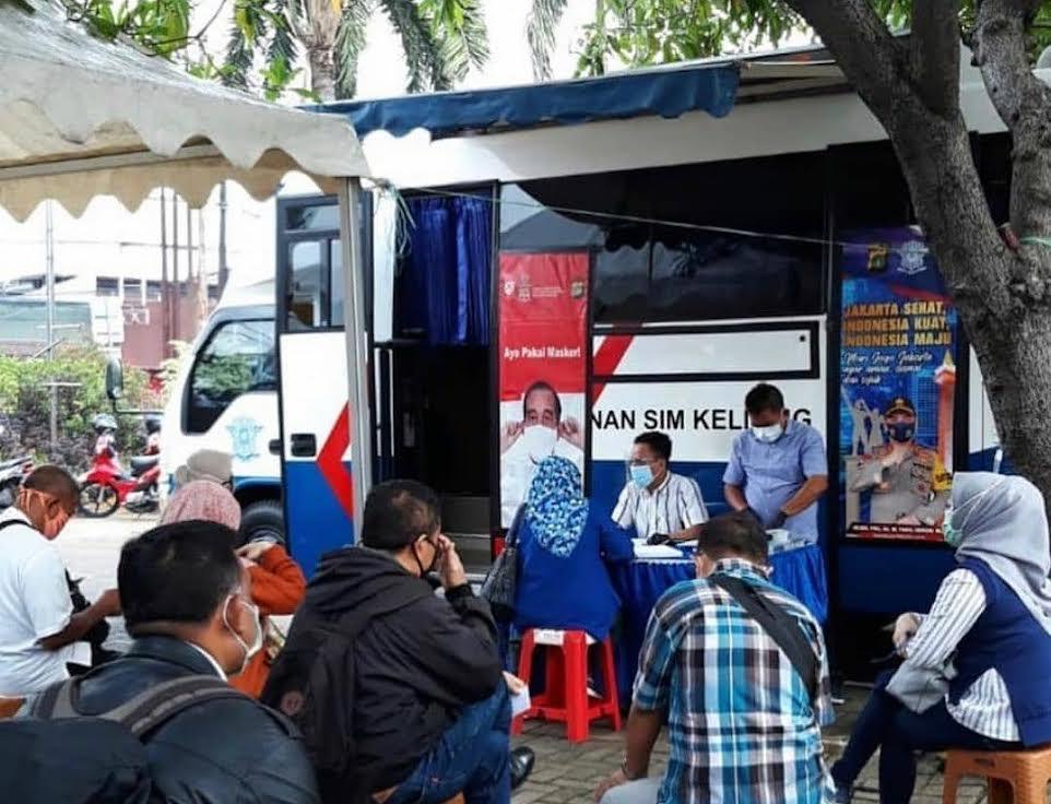 Daftar Lokasi Samsat Keliling Jadetabek, Jumat 10 September 2021
