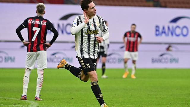 Juventus Ditahan Imbang AC Milan 1-1