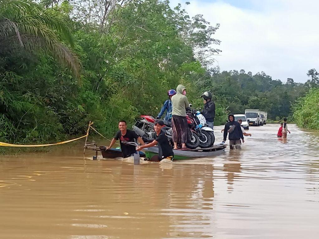 Banjir merendam 3.642 rumah di Kabupaten Gunung Mas, Kalimantan Tengah
