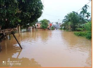 Sebanyak 160 Rumah Warga Kabupaten Kampar Terdampak Banjir