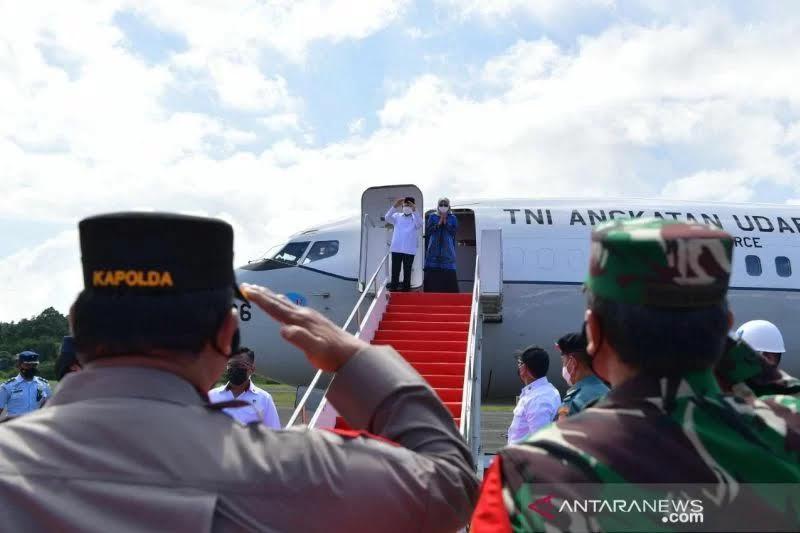 Wapres Menuju Papua untuk Lakukan Kunjungan Kerja